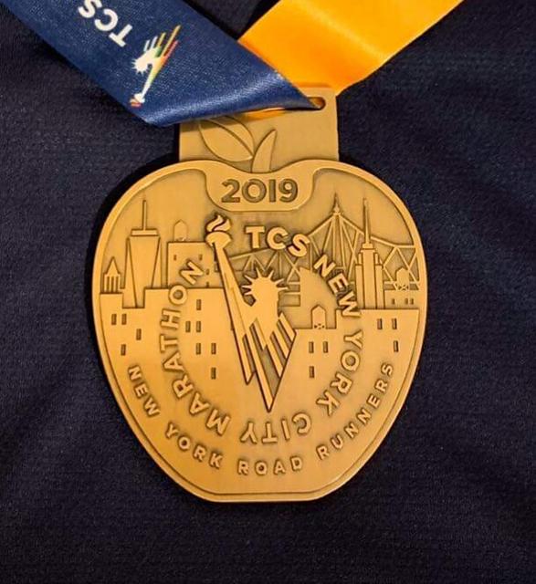 Médaille nyc19