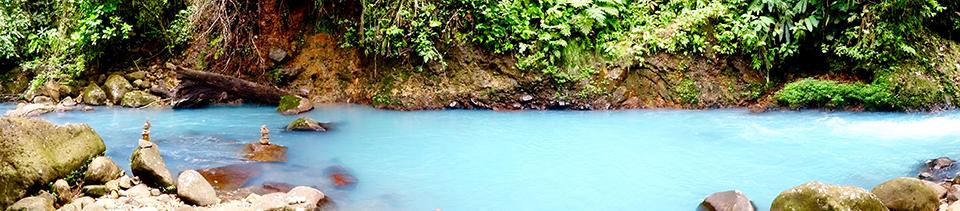 Rio Celeste baignade